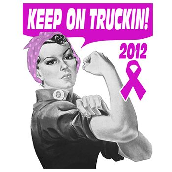 Keep On Truckin - Graphic